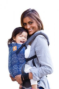 Baby Tula Multi-Position, Ergonomic Baby Carrier, Front and Back Carry for 15 – 45 pounds  ...