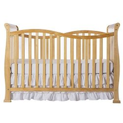 Dream On Me Violet 7 in 1 Convertible Life Style Crib, Natural