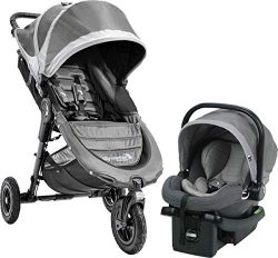 Baby Jogger 2018 City Mini GT Travel System, Steel Gray