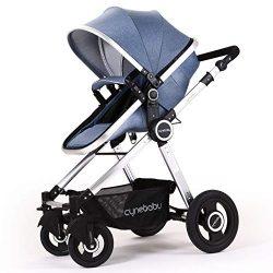 Baby Stroller Bassinet Pram Carriage Stroller – Cynebaby All Terrain Vista City Select Pus ...