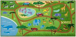 Wildkin Play Rug, Safari