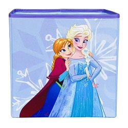 Frozen Else and Anna Collapsible Storage Bin by Disney – Cube Organizer for Closet, Kids B ...