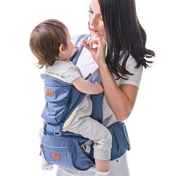 SUNVENO Baby HIPSEAT Carrier Ergonomic Baby Carrier 3in1 Baby Hip seat Waist Stool for Outdoor T ...