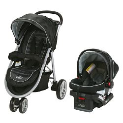 Graco Aire3 Travel System | Includes The Lightweight Aire3 Stroller and SnugRide SnugLock 30 Inf ...