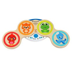Baby Einstein Magic Touch Drums Wooden Drum Musical Toy, Ages 6 months and up