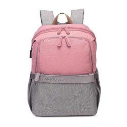 PandaEar Baby Multi-Function Waterproof Diaper Maternity Backpack Bag, Large Capacity, Multiple  ...