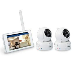 VTech VC9312-245 Wi-Fi IP Camera with 720p HD, Remote Pan & Tilt, Free Live Streaming, Autom ...
