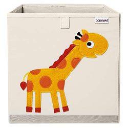 DODYMPS Foldable Animal Toy Storage Bins/Cube/Box/Chest/Organizer for Kids & Nursery, 13 inc ...