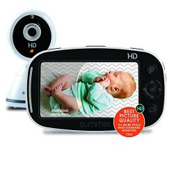 Summer Baby Pixel Zoom HD Video Baby Monitor with 5″ Display and Remote Steering Camera &# ...