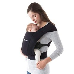Ergobaby Embrace Baby Carrier, Pure Black