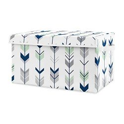 Sweet Jojo Designs Navy Blue, Mint and Grey Woodland Arrow Unisex Boy or Girl Baby Nursery or Ki ...
