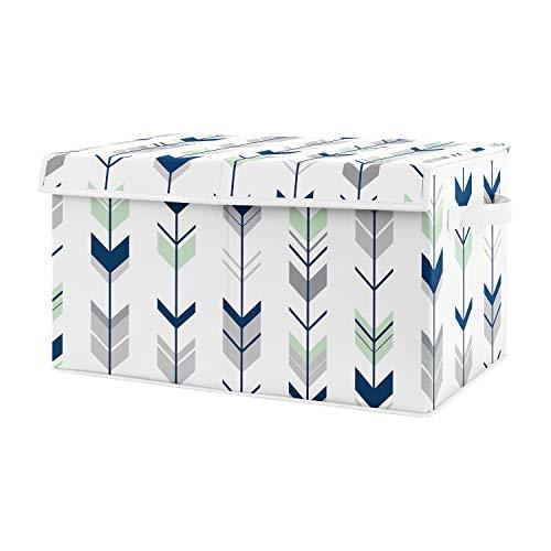 Sweet Jojo Designs Navy Blue, Mint and Grey Woodland Arrow Unisex Boy or Girl Baby Nursery or Ki ...