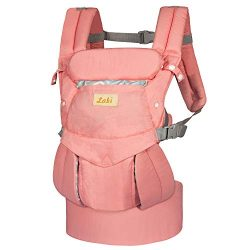 Labi Premium Cotton Baby Carrier with Adjustable Bucket Seat, Ergonomic All Position Baby Backpa ...