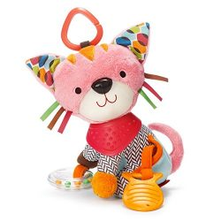 Skip Hop Bandana Buddies Baby Activity and Teething Toy with Multi-Sensory Rattle and Textures,  ...