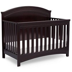 Simmons Kids SlumberTime Emma Convertible Baby Crib N More, Black Espresso