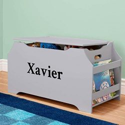 DIBSIES Personalization Station Personalized Dibsies Kids Toy Box with Book Storage – Boys ...
