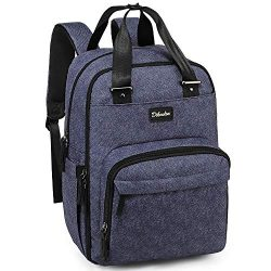 Diaper Bag Backpack Large Capacity Nappy Baby Bags with Insulated Pockets and Changing Pad Water ...