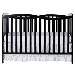 Dream On Me Chelsea 5-in-1 Convertible Crib Black
