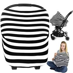 Nursing Breastfeeding Cover, Metplus Car Seat Covers for Babies Infant Carseat Canopy Baby Breas ...