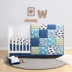The Peanutshell Crib Bedding Set for a Boy, Girl or Gender Neutral Nursery – Forest Theme  ...