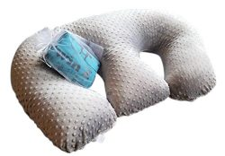 Twin Z Pillow + 1 Grey cuddle cover + FREE Travel Bag!