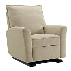 Baby Relax Raleigh Gliding Recliner, Beige