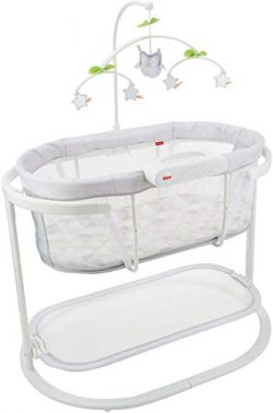 Fisher-Price Soothing Motions Bassinet with Smart Connect