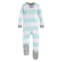 Burt's Bees Baby Baby Boys' Unisex Pajamas, Zip-Front Non-Slip Footed Sleeper PJs, O ...