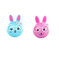 2 PCS Rabbit LED Plug in Night Light for Kids- Wall Lamp Take Good Care Children Sleep Light Sen ...