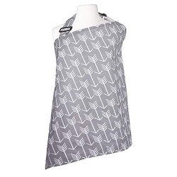 Nursing Cover with Burp Cloths Breastfeeding Cover for Baby Infants 100% Cotton Privacy Feeding  ...