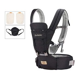 Ergonomic 360° Best Baby Soft Carrier, Comfortable Adjustable Positions,Breastfeeding Fits All N ...