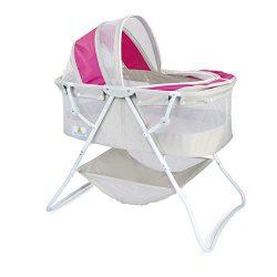 Big Oshi Emma Newborn Baby Bassinet – Portable Bassinet for Boys or Girls – Perfect  ...