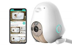 Cubo AI Baby Monitor: Sleep Safety with Covered Face & Danger Zone Alerts, HD 1080p Night Vi ...