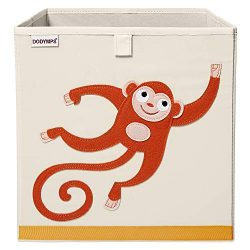 DODYMPS Foldable Animal Toy Storage Bins/Cube/Box/Chest/Organizer for Kids & Nursery, 13 inc ...