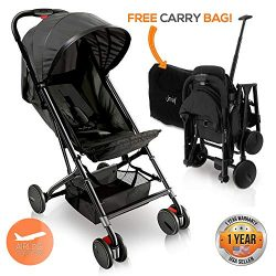 Portable Folding Lightweight Baby Stroller – Smallest Foldable Compact Stroller Airplane T ...