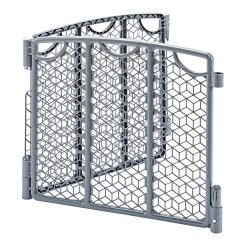 Evenflo Versatile Play Space 2-Panel Extension, Cool Gray