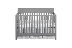 Oxford Baby Harper 4 in 1 Convertible Crib Dove Gray, Dove Gray