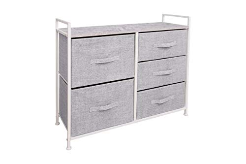 East Loft Storage Cube Dresser | Organizer for Closet, Nursery, Bathroom, Laundry or Bedroom | 5 ...