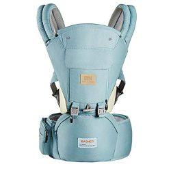 Ergonomic 360° Baby Soft Carrier, Comfortable Adjustable Positions,Breastfeeding Fits All Newbor ...