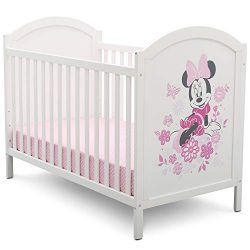 Disney Minnie Mouse 4-in-1 Convertible Crib by Delta Children