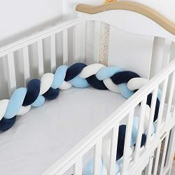 Lion Paw Crib Bed Bumper Pillow Cushion 78.7in Crib Sides Protector Infant Cot Rails Newborn Gif ...