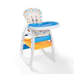 Bable Multifunctional Baby High Chair, Toddler Chair, Learning & Playing Table with Removabl ...
