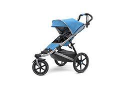 Thule Urban Glide 2 Jogging Stroller (Blue w/Silver Frame)