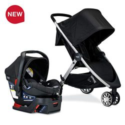 Britax B-Lively Travel System with B-Safe 35 Infant Car Seat, Ashton – Birth to 55 pounds  ...