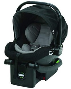 Baby Jogger City Go Infant Car Seat and Base, Black/Gray