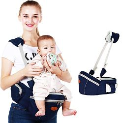 Baby Hip Seat Carrier Waist Stool – SKYROKU Baby Carrier for Child Infant Toddler with Adj ...