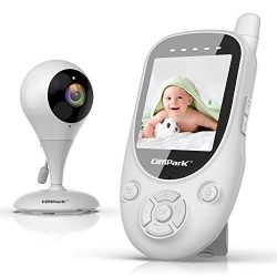 Campark Baby Monitor with 2.4GHz Wireless Digital Camera – Privacy Protection, 1000ft Vide ...