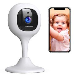 [2019 New] APEMAN Baby Monitor Camera with Crying Alerts and 2-Way Audio 1080P WiFi Home Securit ...