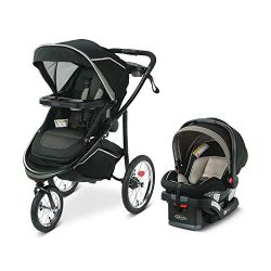 Graco Modes Jogger 2.0 Travel System | Includes Jogging Stroller and SnugRide SnugLock 35 LX Inf ...