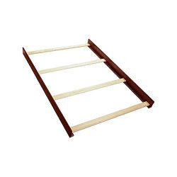 Full Size Conversion Kit Bed Rails for Creations Baby Cribs (Cherry)